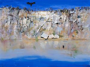 One of Australia's greatest artists, Arthur Boyd, painted the emblematic Black Cockatoo flying over the Shoalhaven River at Nowra, near where I live.