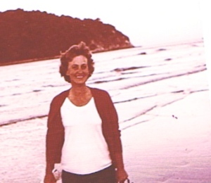 My beautiful mum, June, who died of COPD on ANZAC morning in 1999.