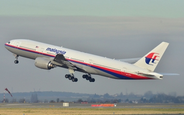 MH370: The actual missing jet, one of only a few photographs.
