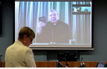 pell swearing on bible